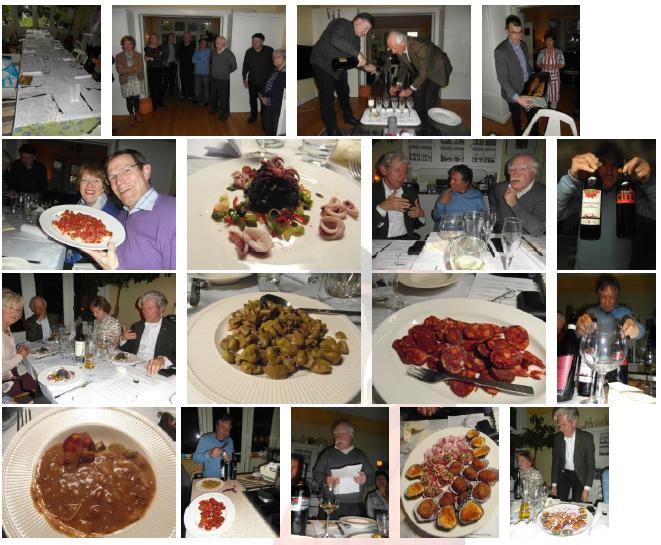 Cibo vino e la storia 2014