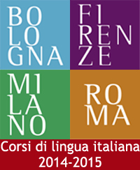 Foto pubblicità corsi di lingua italiana