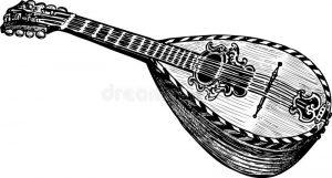 vektorzeichnung-des-alten-mandoline-29774556