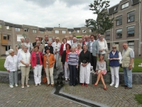 Ontmoeting soci Dante Nijmegen met soci van Dante Kleve, 13 juni 2014